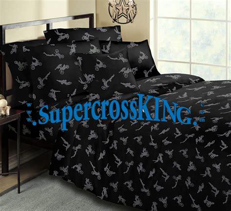 motocross bedding sets no fear motocross bedding