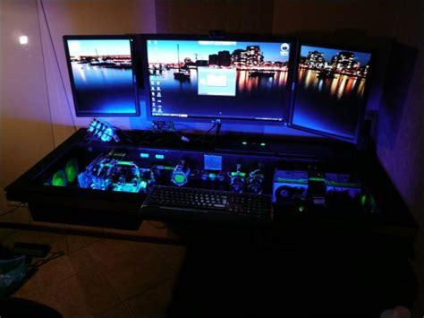 custom computer desk custom built computer desk mod 68 pics