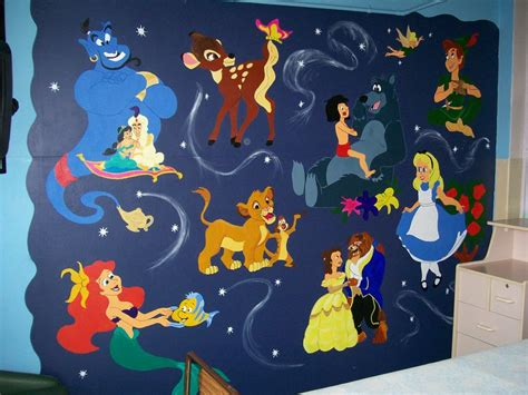 Wall Mural Paint disney mural by argobargo on deviantart