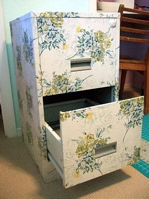 decoupage cabinets decoupage filing cabinet update metals and fabrics