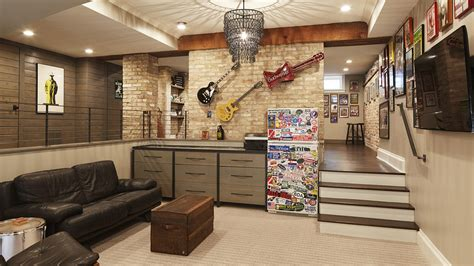 Garage Floor Design these are the man caves every dad dreams of marketwatch