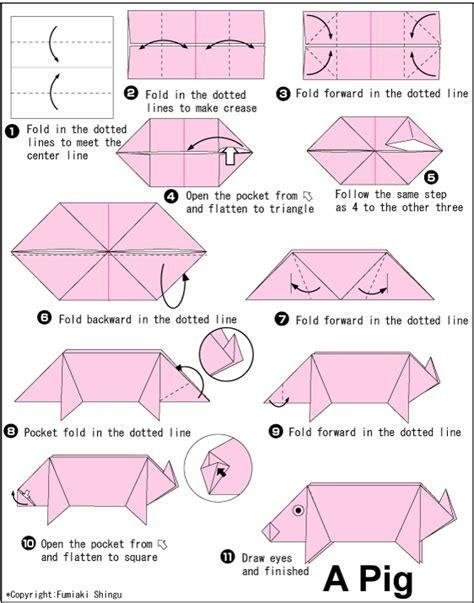 Origami Pig Stuff