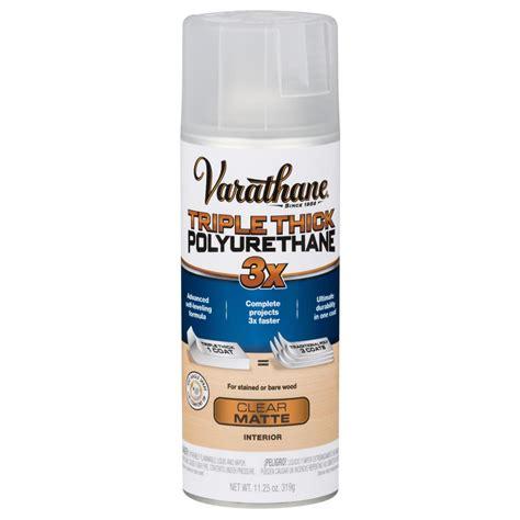 spray paint polyurethane varathane 11 oz matte thick polyurethane spray