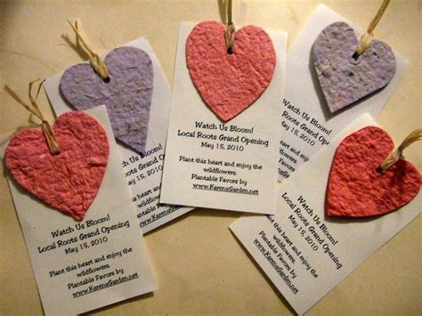 how to make seed cards seed paper favors craftaholics anonymous 174