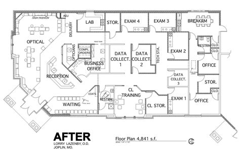 optometry office floor plans practice floor plan optometry