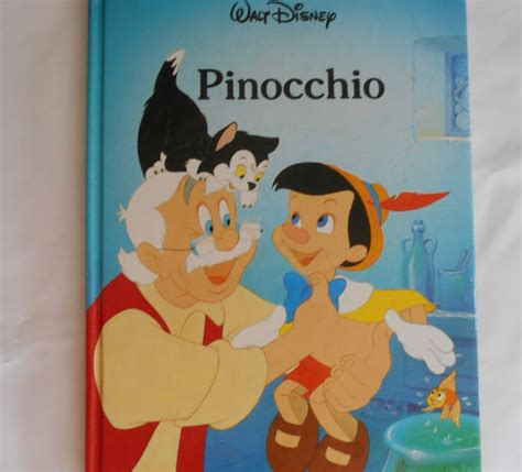 pinocchio picture book walt disney s pinocchio 1986 hardcover published by