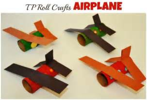 paper airplane crafts for paper roll craft airplane crafts