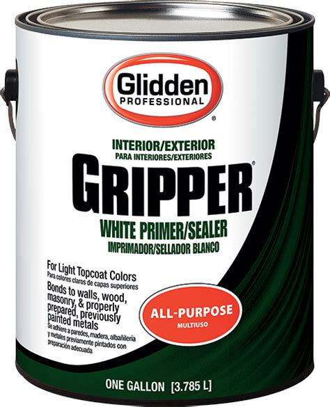home depot paint sales rep gripper 174 primer sealer glidden professional paint
