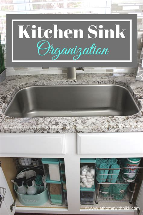 organizing the kitchen sink at home with how to organize the kitchen sink