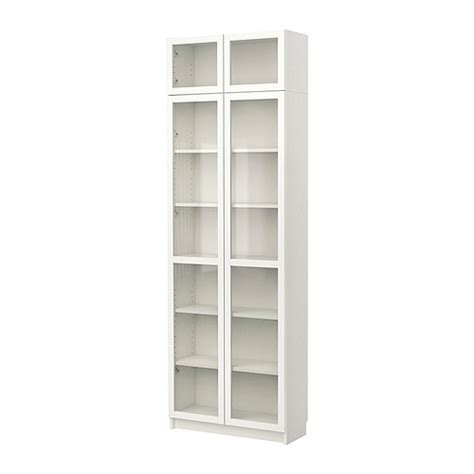 ikea bookcases with glass doors billy bookcase with glass doors