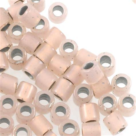 miyuki delica miyuki delica seed bead 8 0 opal copper lined