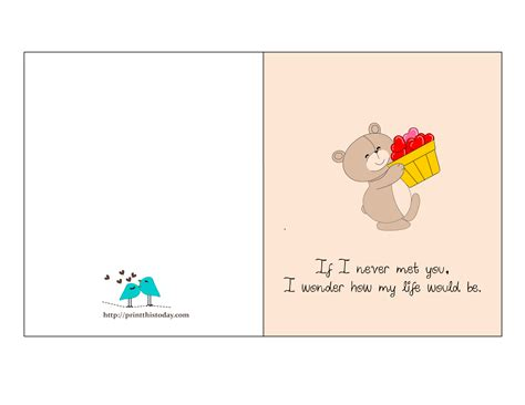 card for free to print free quotes cards
