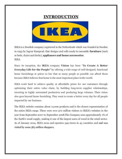 Home Design Alternatives comparison of marketing mix of ikea in four countries