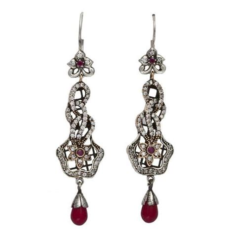 wholesale jewelry theia silver earring turkish wholesale silver jewelry