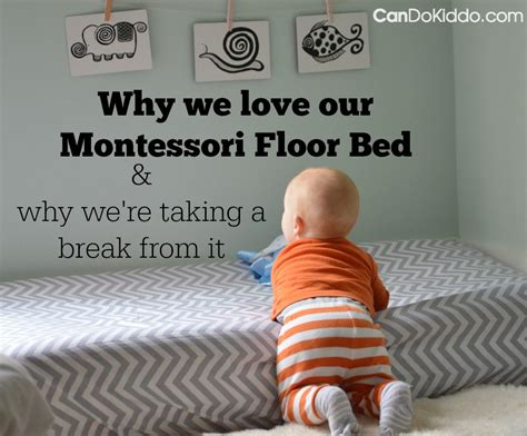 what is a bed a montessori floor bed and baby sleep problems cando kiddo