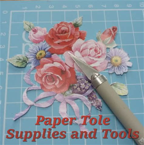 paper crafts supplies beginner papier paper tole supplies and tools