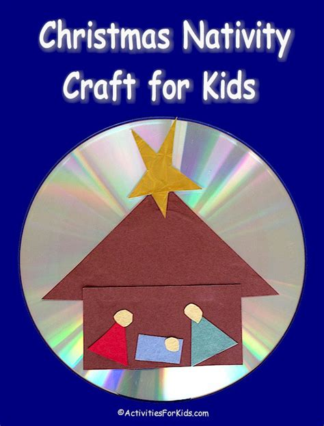 nativity craft for shining nativity craft for