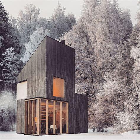 small modern cabin modern minimalism meets wooden warmth inside small winter