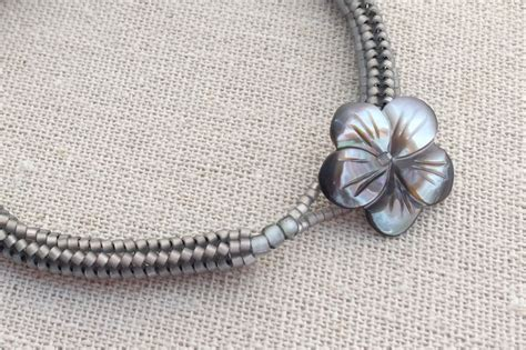 how to add a clasp to a beaded bracelet beaded loop and button clasps