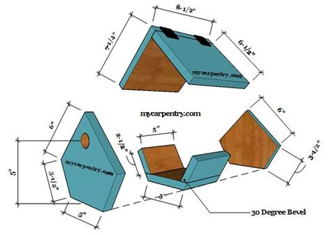 house wren birdhouse plans wren birdhouse plans these bird house plans are an easy