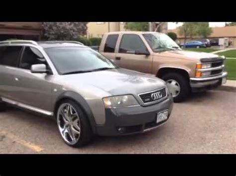 Audi Allroad Rims audi allroad 2001 on 22 quot rims