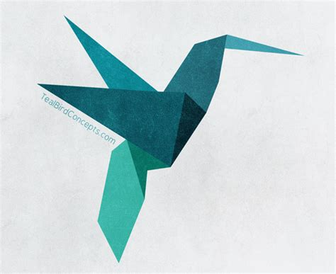 origami bird drawing teal bird concepts the stepping away for inspiration