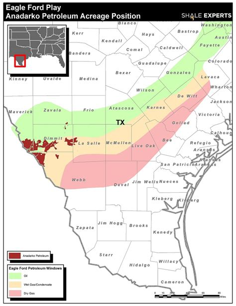 Eagle Ford by Eagle Ford Shale Map Acreage Map Company Map
