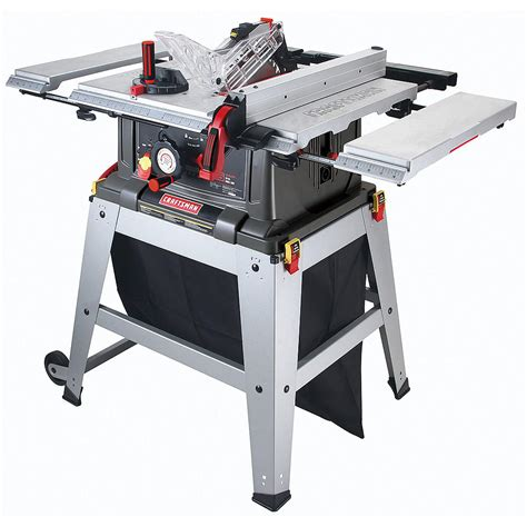 table saws reviews craftsman 21807 portable table saw review table saw central