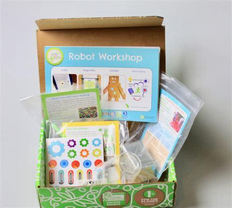 kid craft subscription box green crafts subscription box review may 2017