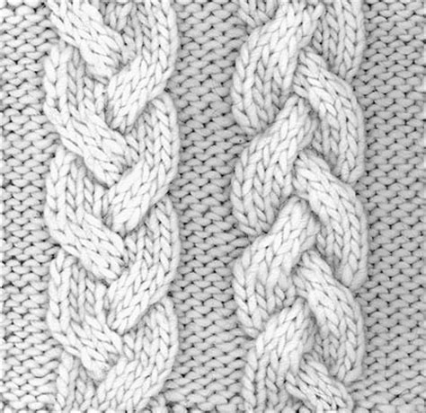 how to knit braid how to knit a braid cable dummies