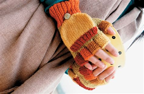 knitting pattern for childrens gloves with fingers fingerless gloves pattern magic mittens sewandso ideas