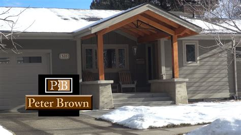 innovative design home remodeling a front patio renovation in bozeman montana