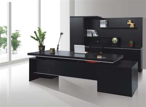 black office desks black office desk suited in every office designinyou