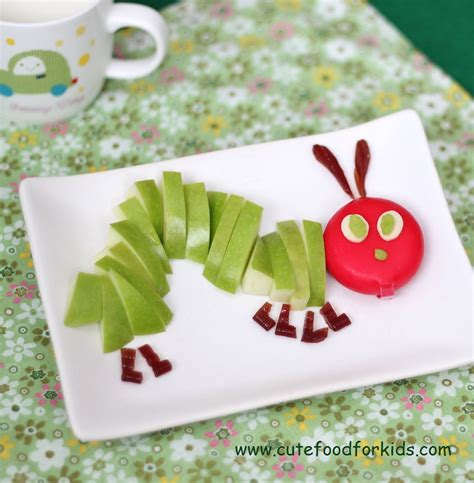 kid food crafts food for 22 the hungry caterpillar