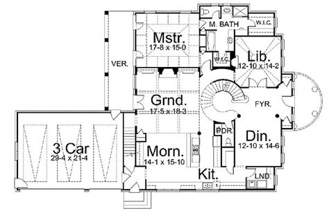 floor plans with spiral staircase dramatic spiral staircase 12072jl architectural