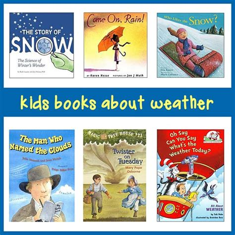 weather picture books books on weather for in k 8