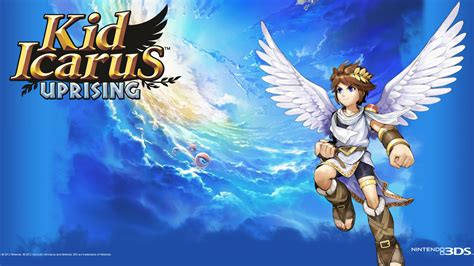 kid icarus uprising kid icarus uprising wallpaper the 3ds media