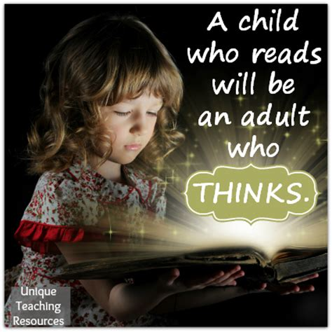 who reads 80 quotes about reading for children free