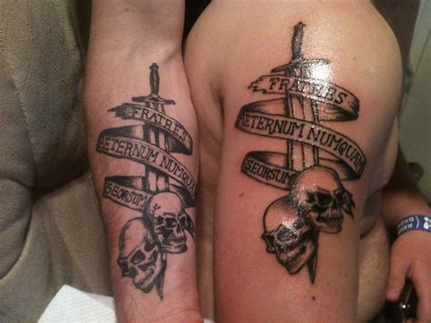 matching brother tattoos designs ideas and meaning