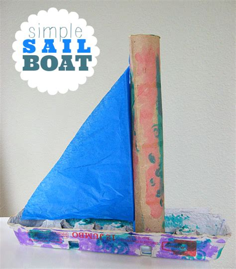kid craft boats sail boat craft no time for flash cards