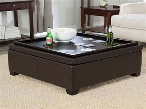 storage ottoman table coffee table coffee table storage ottoman ottoman with