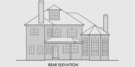 small brick house plans brick house plans curved stair attic dormer small