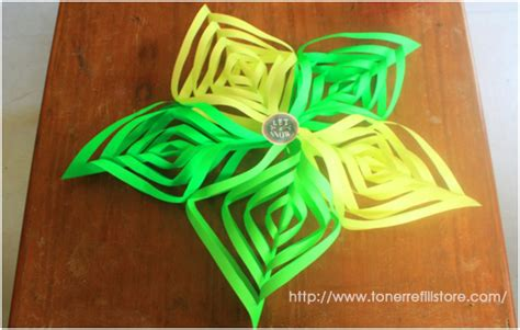 cut and fold paper crafts how to cut and fold 3d paper snowflakes in 10 easy steps