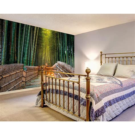 home depot wall murals brewster jungle path wall mural wals0201 the home depot