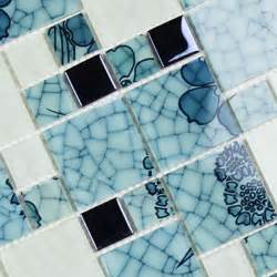 Nautical Wall Murals crystal glass mosaic kitchen tiles washroom backsplash