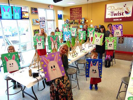 paint with a twist cincinnati report painting with a twist cincinnati family magazine