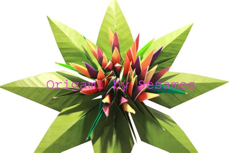 origami bird of paradise flower www sesames co uk origami florist paper origami