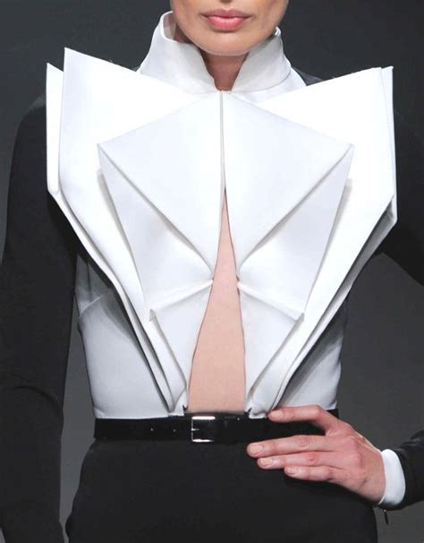 origami garments 25 best ideas about origami fashion on