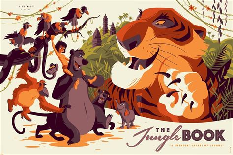 the jungle book pictures the jungle book by tom whalen 411posters