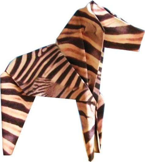 origami zebra joost langeveld origami page